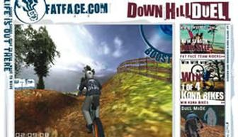 A DownHill Duel for Fat Face