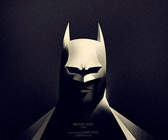 Olly Moss creates limited-edition licensed The Dark Knight Returns Batman poster