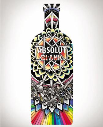 Absolut taps artists including UVA and Good Wives and Warriors for Absolute Blank campaign