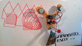 Arduino-powered robot does your doodling for you