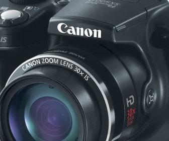 Canon extends its megazoom range with PowerShot SX500 IS and SX160 IS