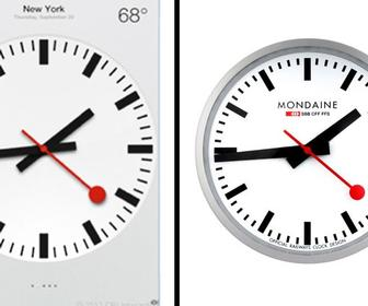 Swiss clock licensee 'surprised' at news that Apple can use iconic design on iPad