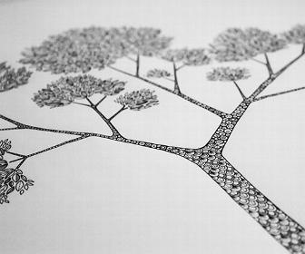 Johanna Basford's sabbatical diary, week 2: Drawing a forest, buying a boat