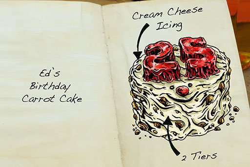 how tom hovey draws mouthwatering cakes for the great british bake