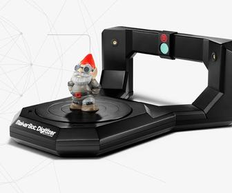 Makerbot's desktop scanner for 3D printers will cost you £900