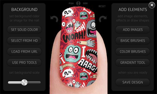 Inni Lets You Order False Nails With Your Own Art And Designs On