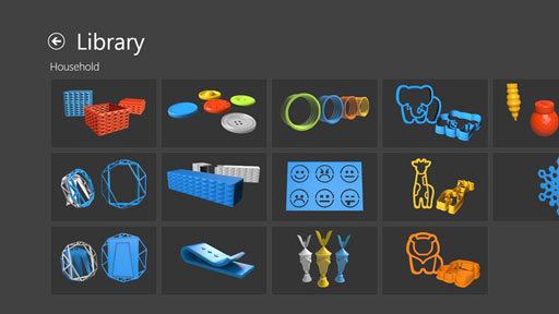 microsoft debuts 3d printing app for windows 8 1 news digital arts. Black Bedroom Furniture Sets. Home Design Ideas