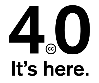 New Creative Commons 4.0 licence gives users more flexibility