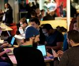 Inside the hackathon to create apps to help UK flood victims
