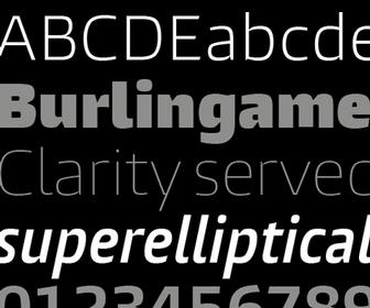 Monotype launches Burlingame typeface that's ideal for in-car displays