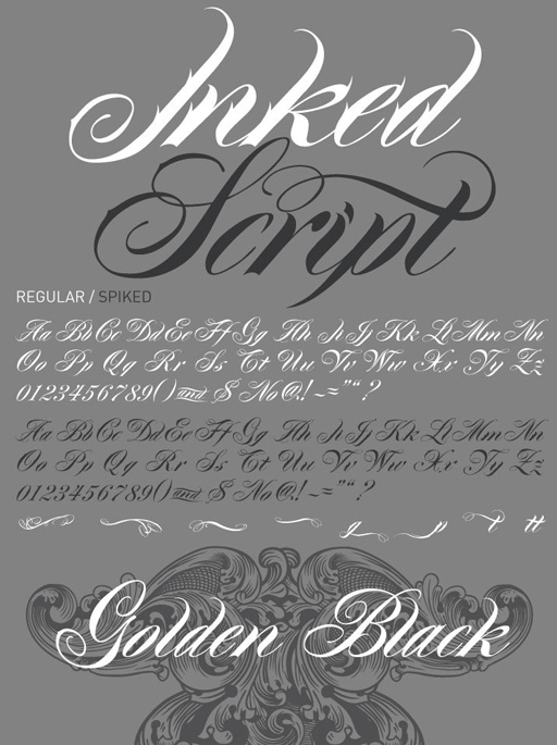Tattoo Fonts: 10 Best Tattoo Fonts: Typefaces That Give Your Letters A