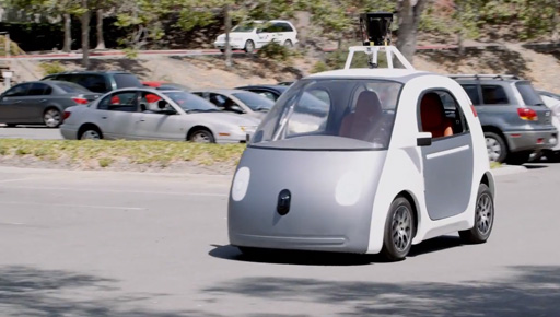 google unveils prototype self driving car which has no steering wheel or brakes news. Black Bedroom Furniture Sets. Home Design Ideas