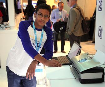 Teenager's low-cost Braille printer gets investment from Intel