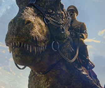 Iron Sky 2 features VFX by Pixomondo and Hitler riding a T-Rex