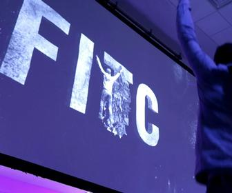 Check out this people-melding installation for FITC by Leviathan