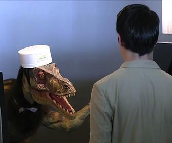We stayed in a Japaneses hotel staffed by robots