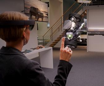 Microsoft, Volvo team up to sell cars using holograms