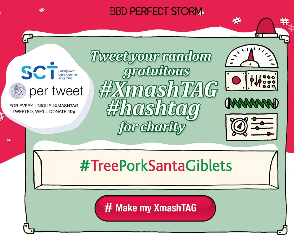 #AdventSauceJoyMince: generate a gratuitous Christmas tweet for charity