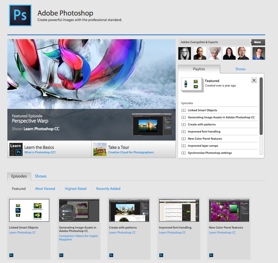 10 best online photoshop video tutorial websites for Best online store for artists