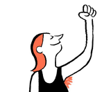 Jean Jullien's new music video celebrates International Women's Day