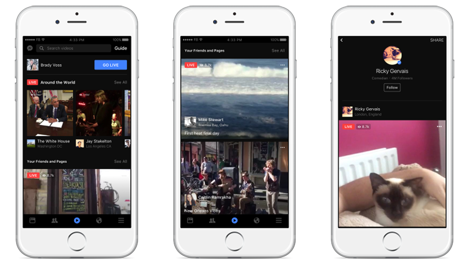 Facebook levels up its live streaming service with new ... - photo#33