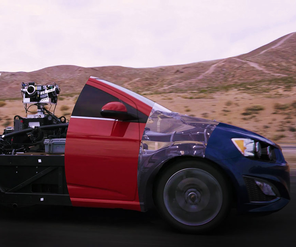 How The Mill Creating the First Fully Adjustable Car Revolutionises Car Advertising