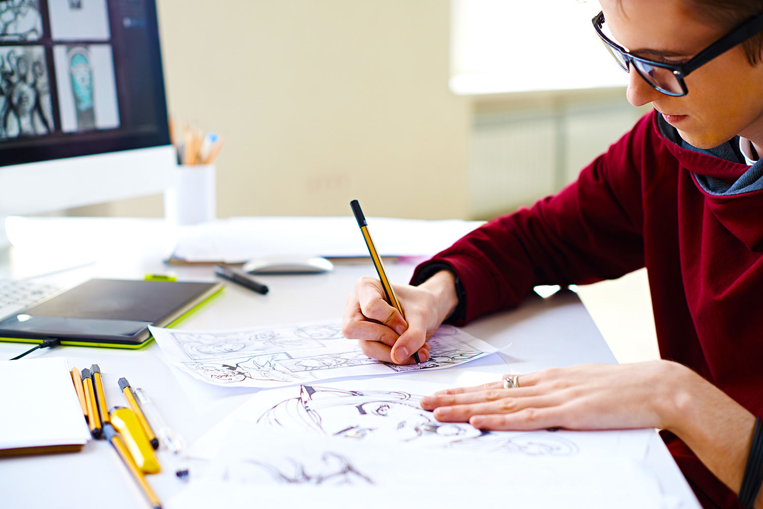 How to Order Illustrations from a Freelance Artist