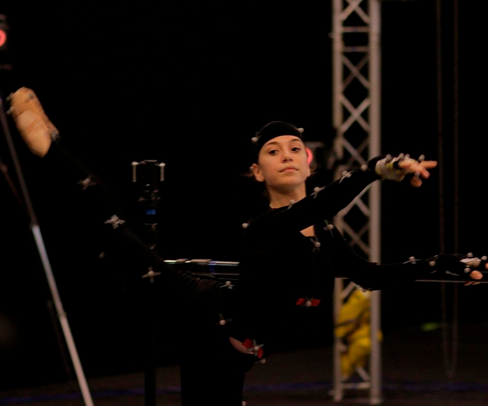 See How Cool Motion Capture Is When It's Used for Dance