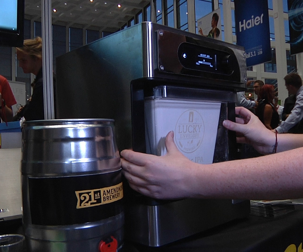 Make Craft Beer in your Kitchen with the Pico brewing machine