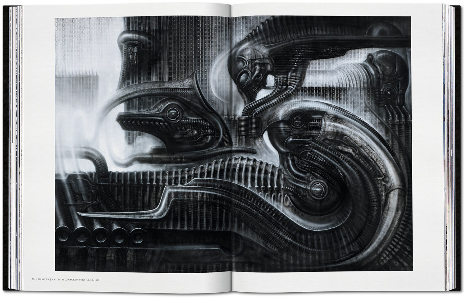 hr giger s biomechanical surrealism re ed in epic monograph for any hr giger fans an extra pound650 a copy of only 1000 sumo sized monograph s paying homage to the infamously dark work of the swiss artist could be