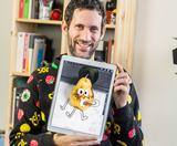 Jon Burgerman talks doodling on Instagram video, creating animated stickers & spontaneous creativity