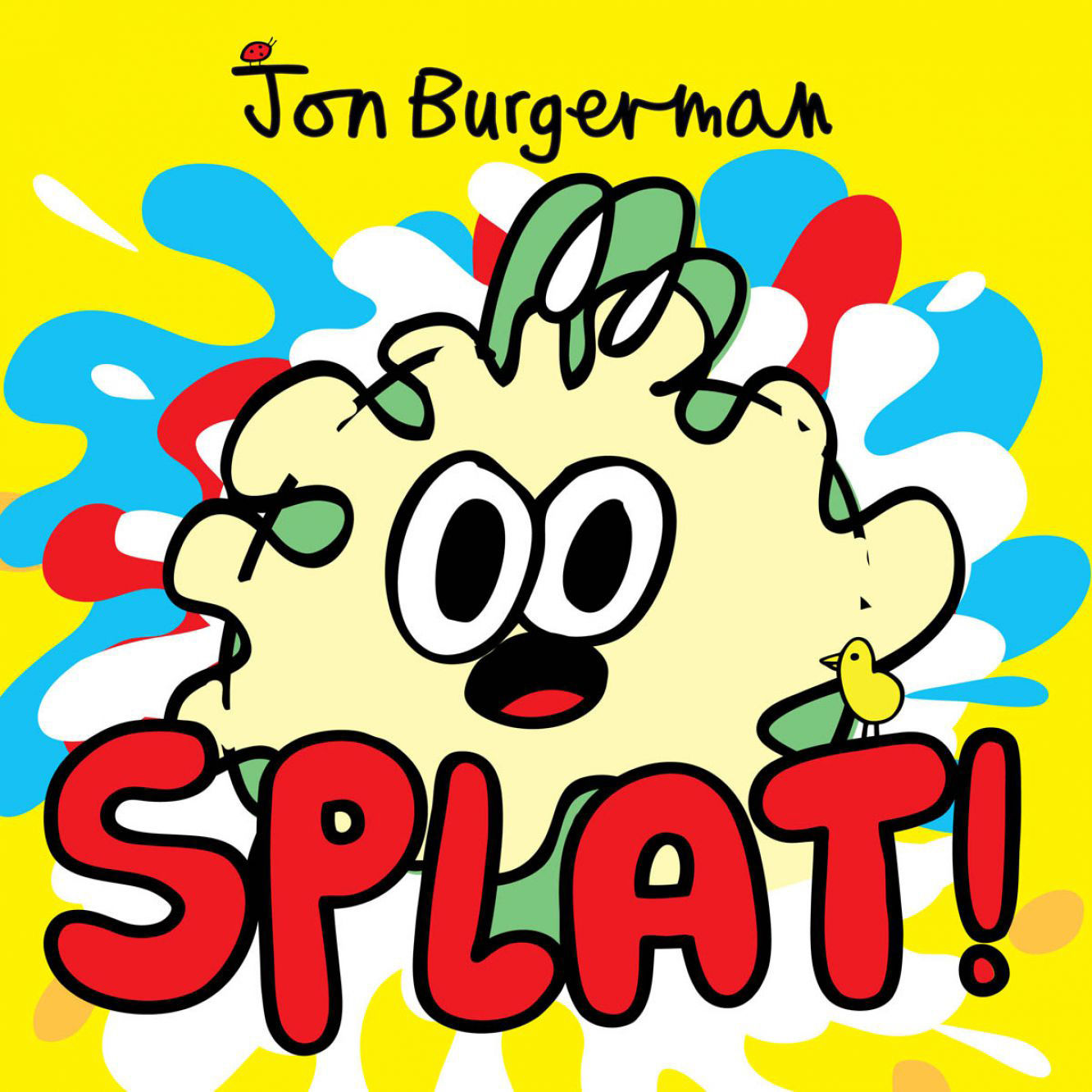 Splat Is True To Jon's Spontaneous And Playful Style  Full Of Bright And  Crazy Lighthearted Illustrations That Keep You Guessing, And We're Sure  Laughing,