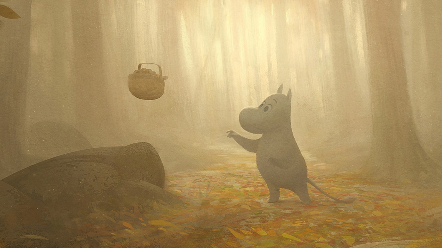 See the beautiful concept art for the new Moomin animated TV series, Moominvalley