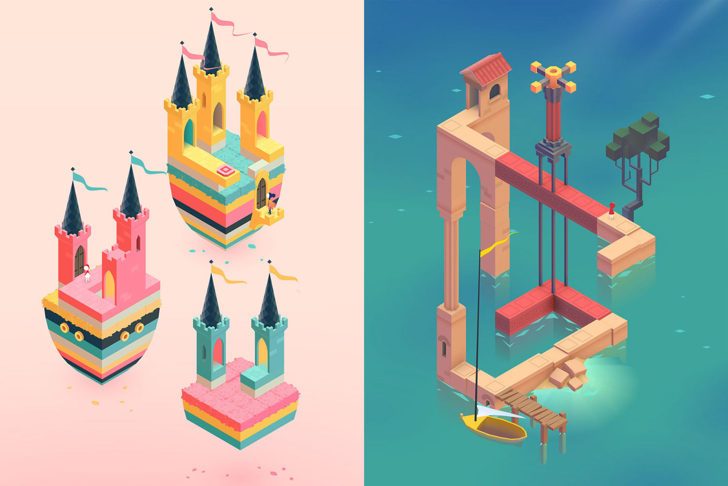 Monument Valley, Made Art Mobile Game