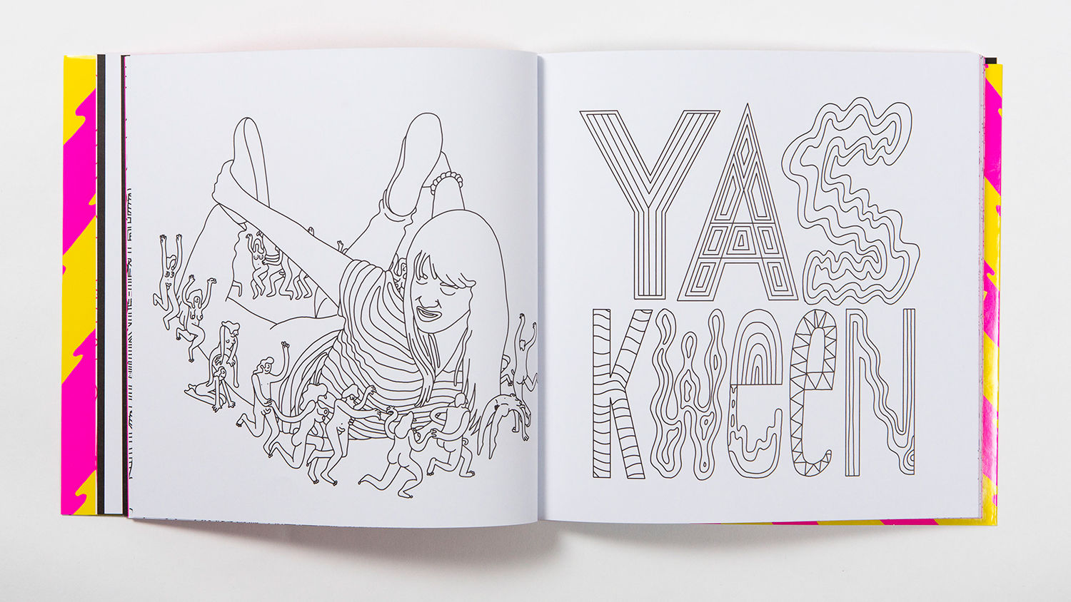 From The Broad City Colouring Book Courtesy Mike Perry Laurence King Comedy Central