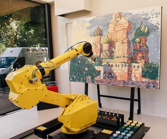 This robot thinks it can paint (and it can)