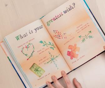 Illustrator Meera Lee Patel beautifully explores overcoming fear in this watercolour journal