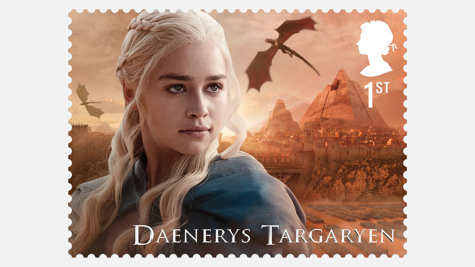 Royal Mail reveals Game of Thrones stamp collection