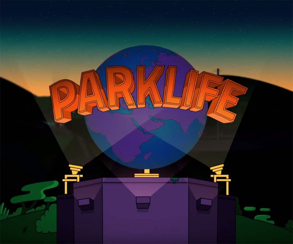 See Andy Baker & Studio Moross' brilliant cinematic animation for Parklife festival
