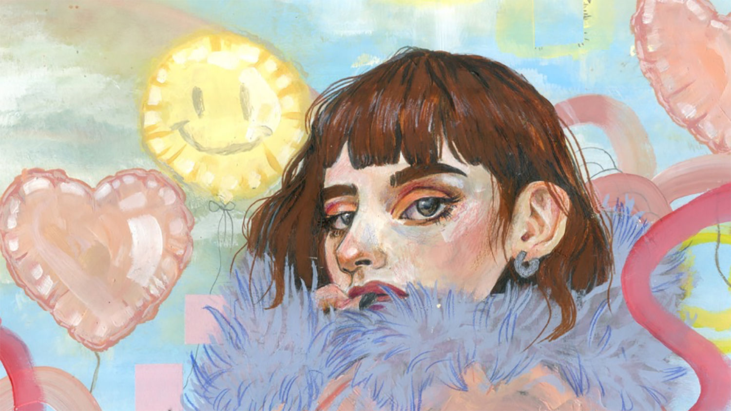 Illustrator Elle Jackson on coping with anxiety and ...
