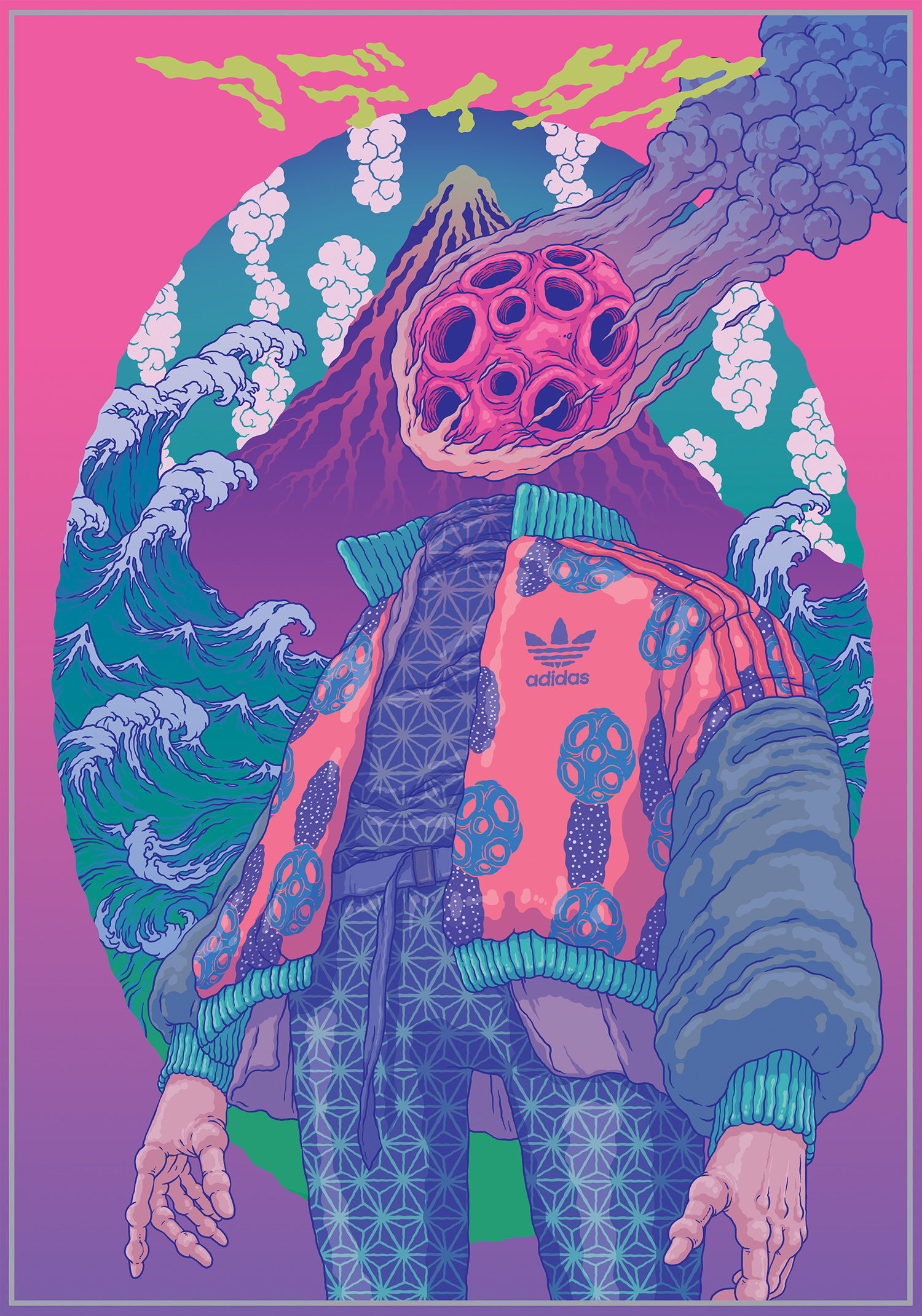 Sell Used Clothes Online >> Illustrator Bang Sangho on his fantastical alien worlds ...