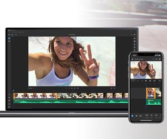 Adobe's brand-new video editing app Project Rush works across your computer, tablet and phone