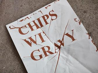 Chip sauce inks and probably the world's largest letterpress made for new book on northern identity