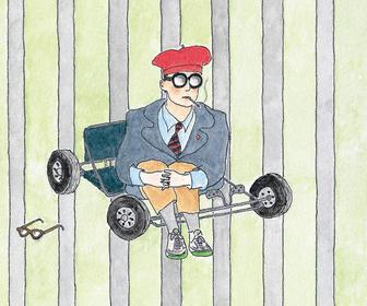 Wes Anderson's brother has drawn cover art for a new Rushmore DVD
