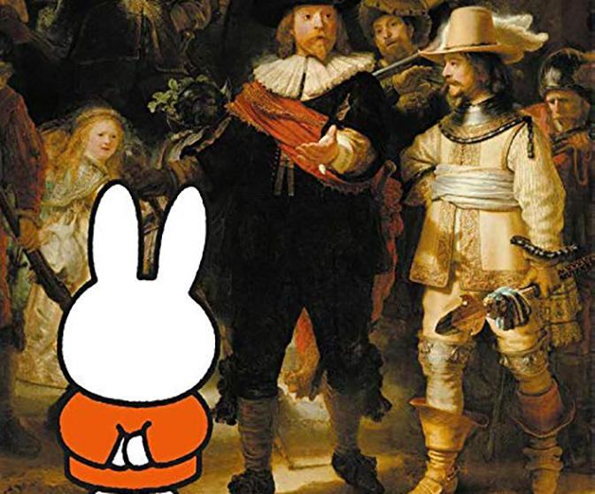Miffy and Rembrandt join forces to teach kids art history in this new book