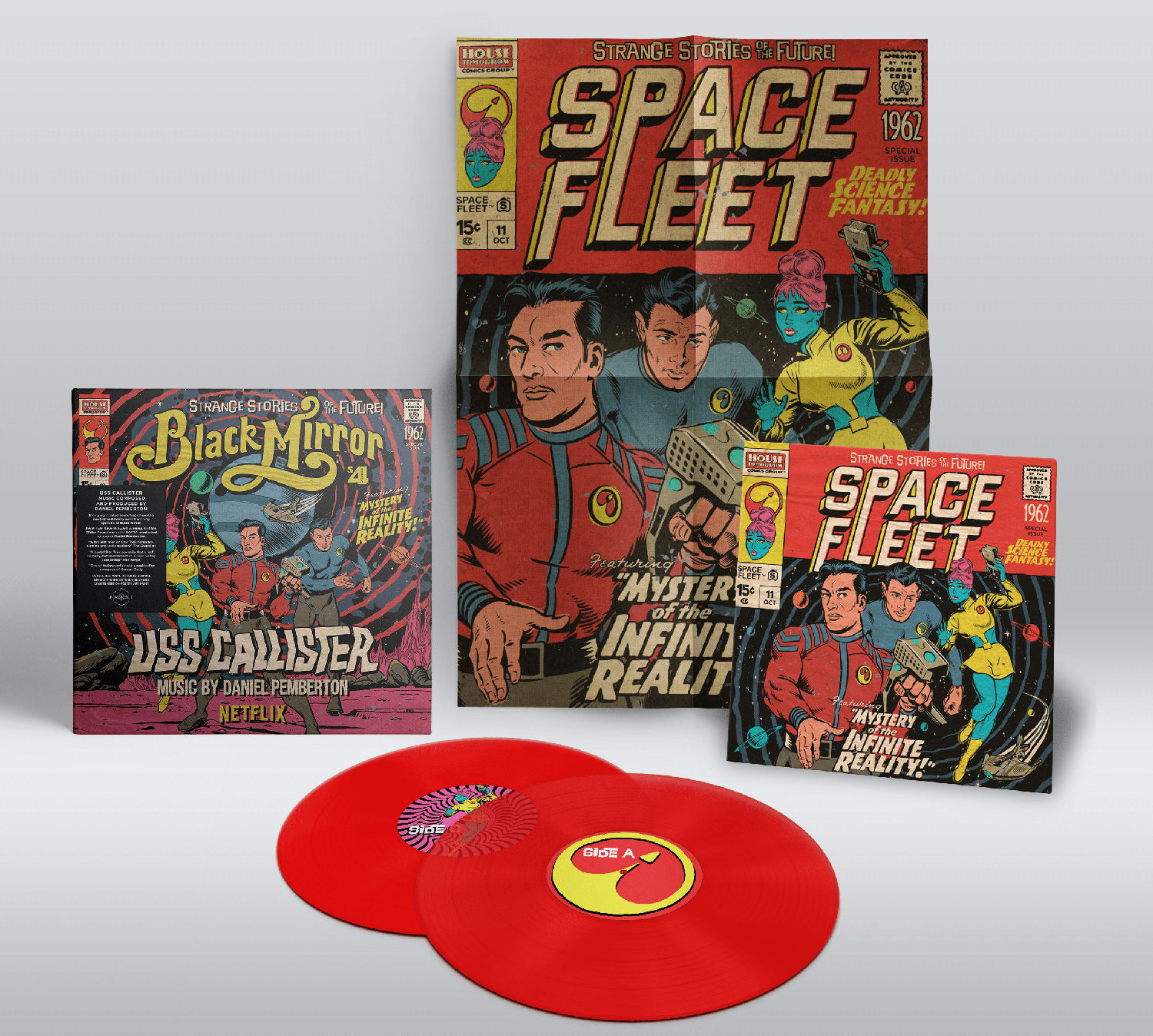 Butcher Billy S Black Mirror Artwork For Uss Callister Is
