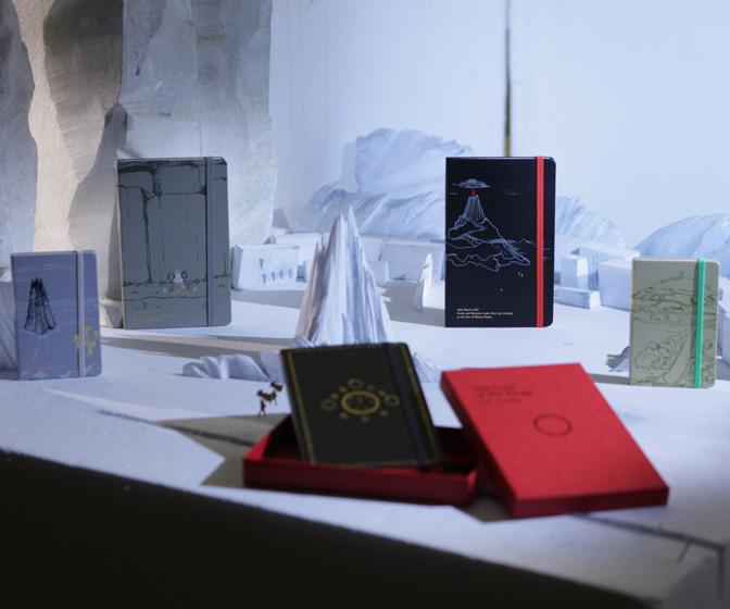 Moleskine launches limited edition Lord of the Rings notebook collection