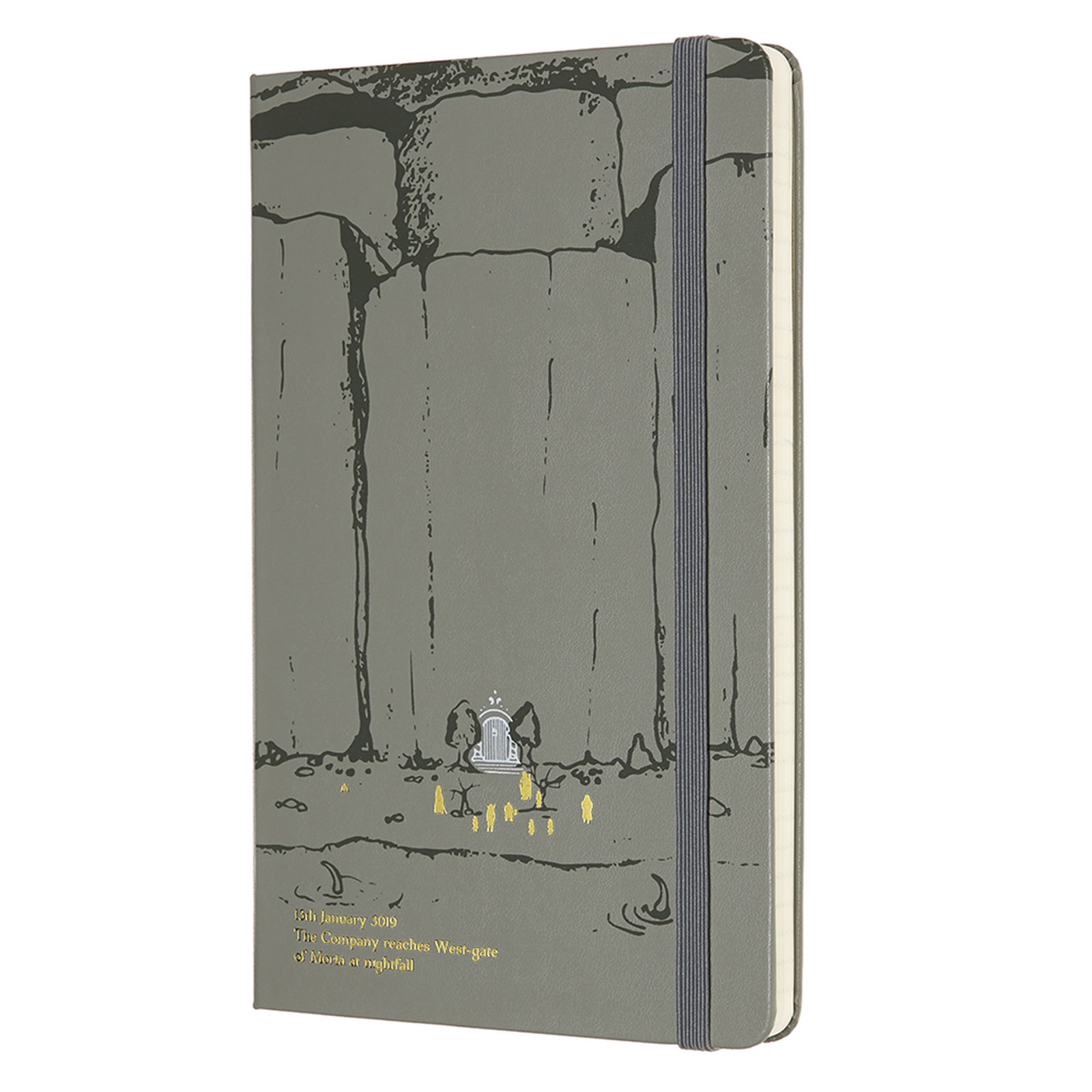 Moleskine Lord of the Rings Moria