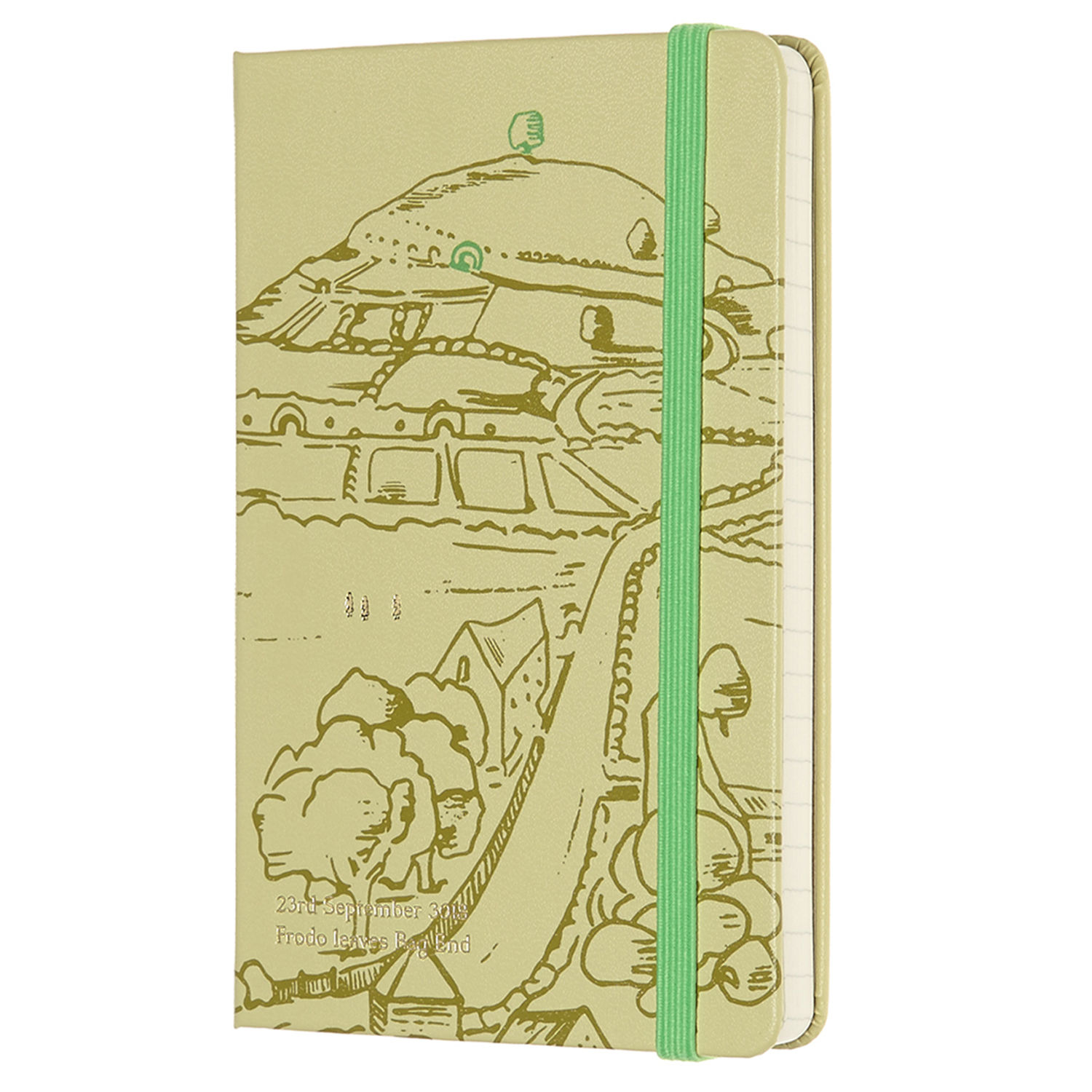 Moleskine Lord of the Rings The Shire