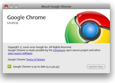 Google Chrome browser for Mac